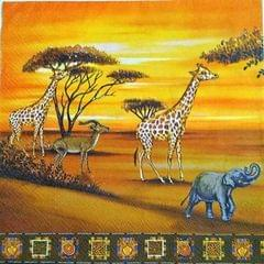 Decoupage Napkin / Tissue papers - Africa