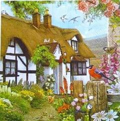 Decoupage Napkin / Tissue papers - House