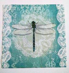 Decoupage Napkin / Tissue papers - Fly High