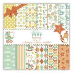 Welcome Baby Paper Pack