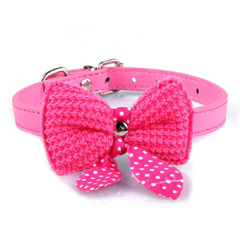 Bowknot Collar - Pink - S
