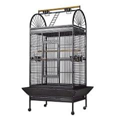 Bird Cage Large Aviary for Macaw, Cockatoo, Eclectus, Grey Parrot, Sun conure & Lory
