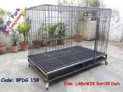 Dog Cage Large Strong Dog Cage for Rottweiler, GSD, Poodle, Boxer & Labrador