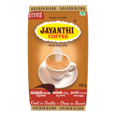 Golden Blend (250g x 4) (FILTER, 15% Chicory) by Jayanthi Coffee