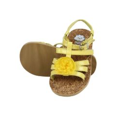 Yellow Flower Sandal Happy Cloud