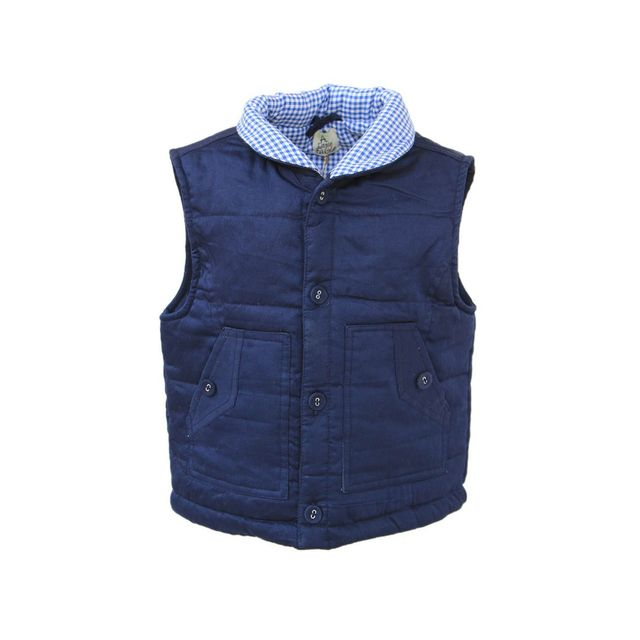 New Navy Quilted Jacket A Little Fable