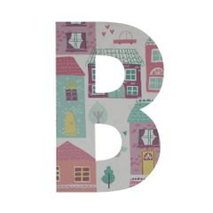 Wooden Alphabet 'B'-Candyhouse