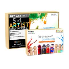 Be Cre8v Little Artist Creative DIY Combo Pack2 Be Cre8v