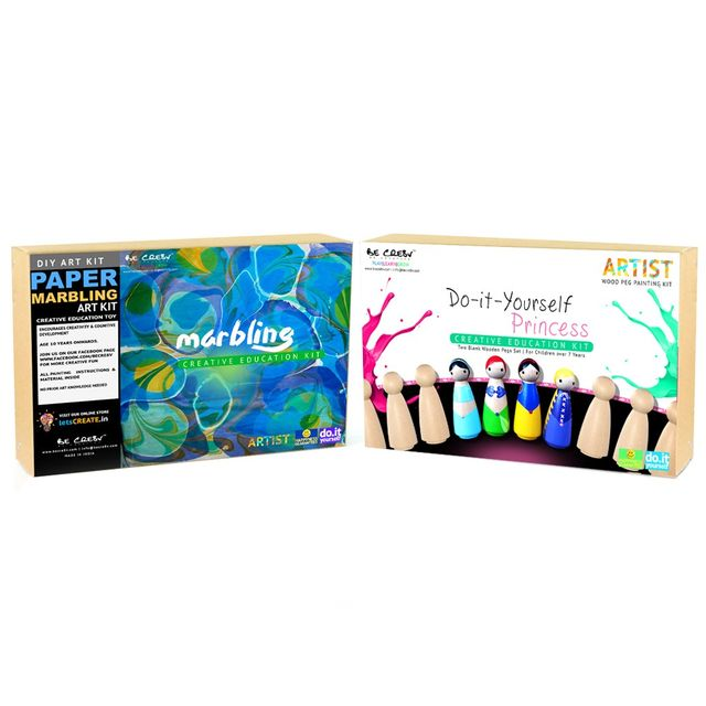 Be Cre8v Little Artist Creative DIY Combo Pack3 Be Cre8v