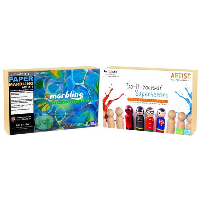 Be Cre8v Little Artist Creative DIY Combo Pack4 Be Cre8v