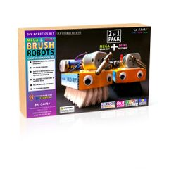 Mega & Mini Brush Robot KIT 2-in-1 Pack Be Cre8v