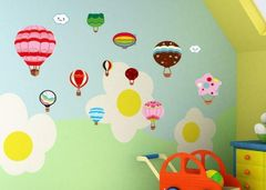 DIY Wall decals Little Nests
