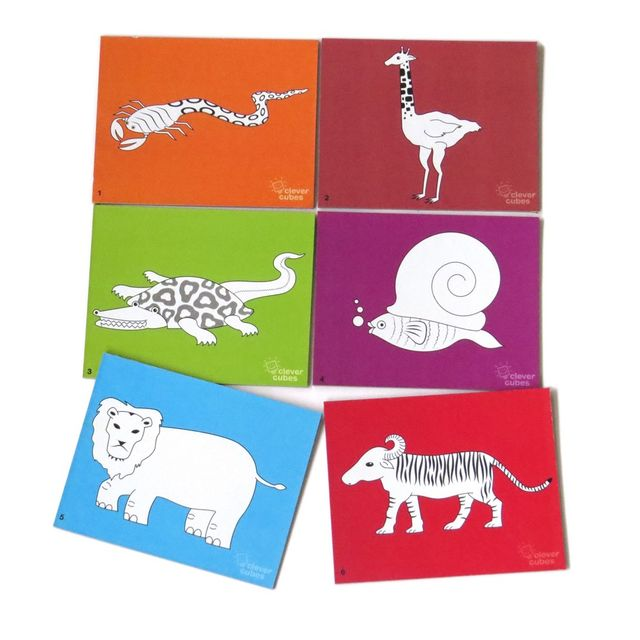 Animal Goof-up Clever Cubes