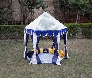 Blue Boys Tent Indian Tent