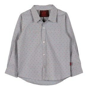 Dot Shirt Grey My Little Lambs