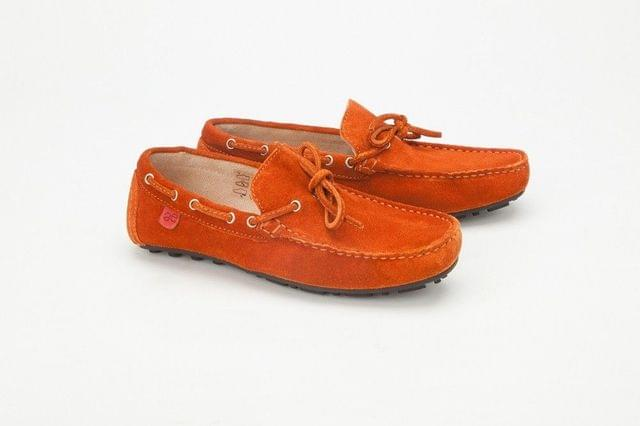 Careeno Chiaro Orange Loafers & Moccasins Careeno