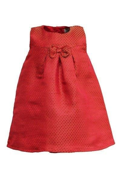 A Little Fable - Festive Red Cheer Dress