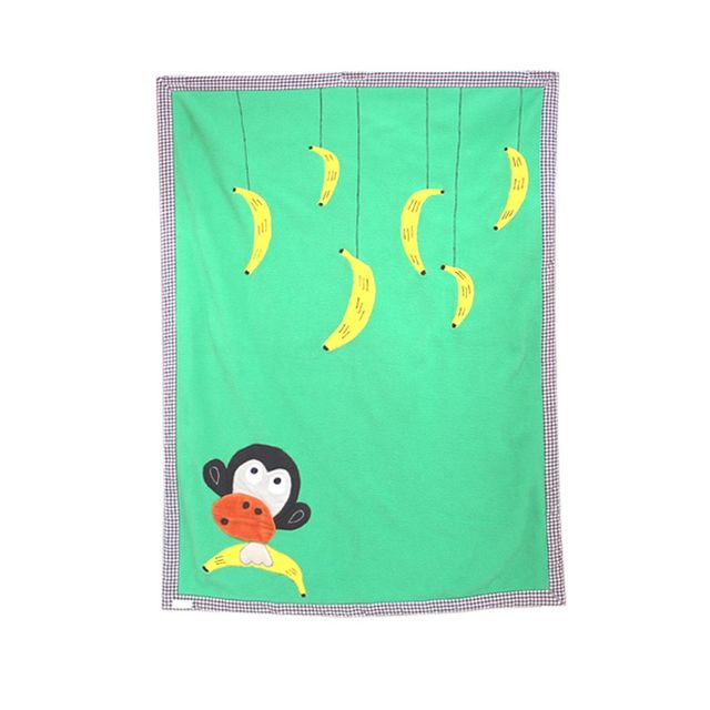 A Little Fable - No Monkey Business Blanket