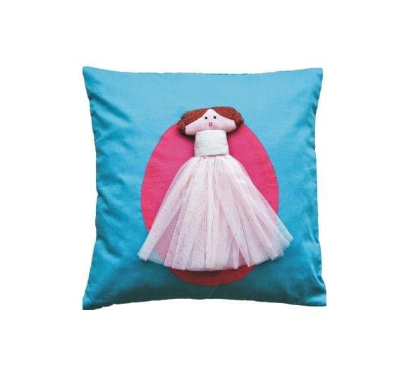 A Little Fable - The 3D Doll Cushion Cover
