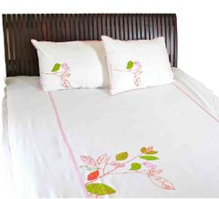 Chirp  bedsheet (Twin) A Little Fable