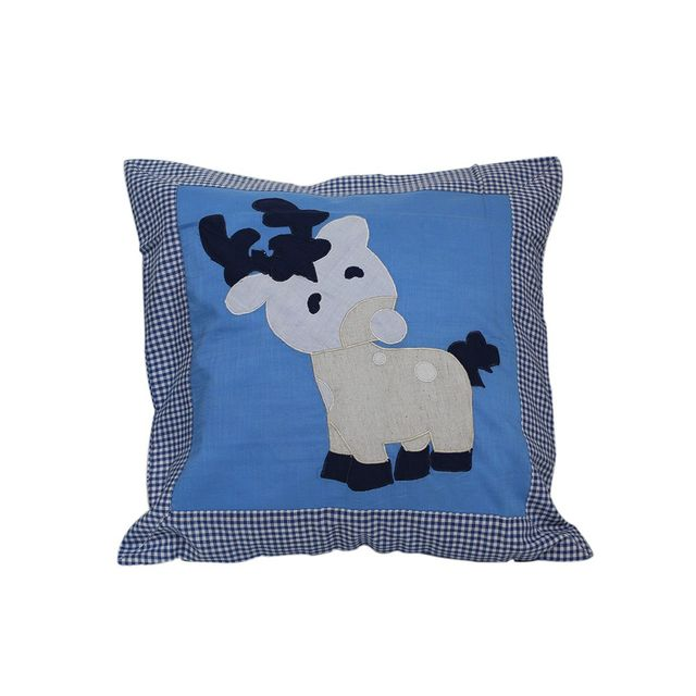 Brave Horse cushion cover