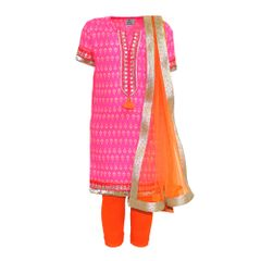 Pink Printed Kurta A Little Fable