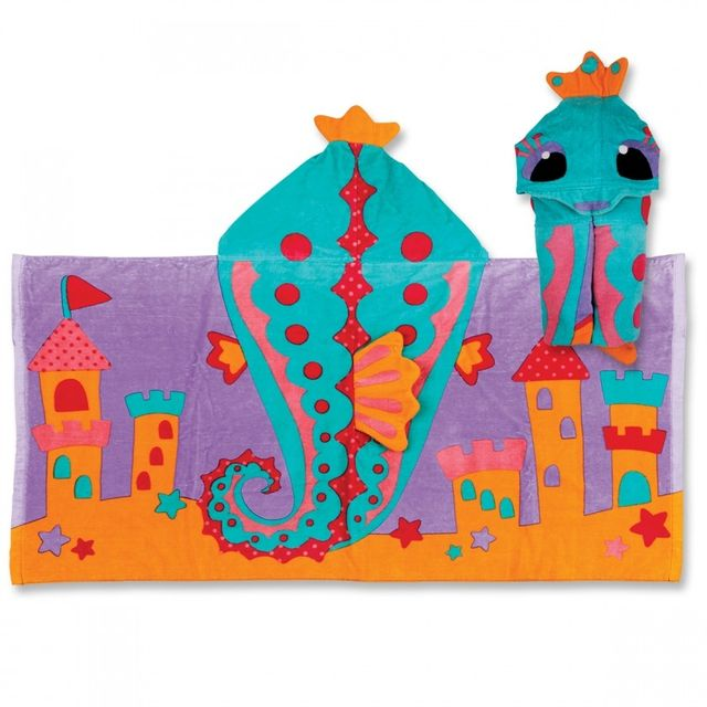 Hooded Towel Sea Horse Stephen Joseph