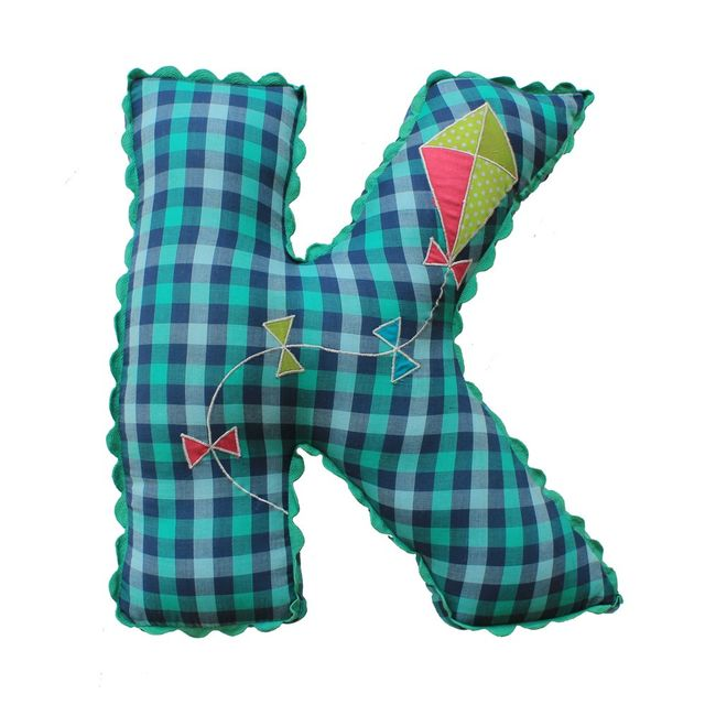 A Little Fable - Alphabet Cushion K