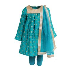 Peacock Brocade Kurta A Little Fable
