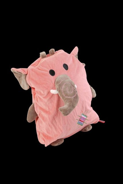 BACKPACK MINK BLANKETS\nELEPHANT PINK