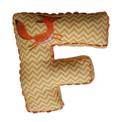 A Little Fable - Alphabet Cushion F-FOX
