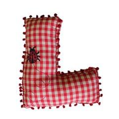 A Little Fable - Alphabet Cushion L-LADYBUG