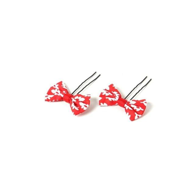Funkrafts Bun Pins - Red