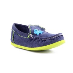 Willy Winkies - Blue Color Genuine Leather Shoes-116