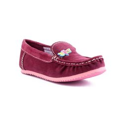 Willy Winkies - Burgandy Color Genuine Leather Shoes-116