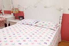 Crown- Double Bedsheet