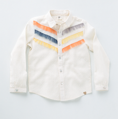 Girls' Joey Blouse Milk Teeth