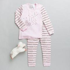 Coccoli Pink & Grey Top and Bottom Set