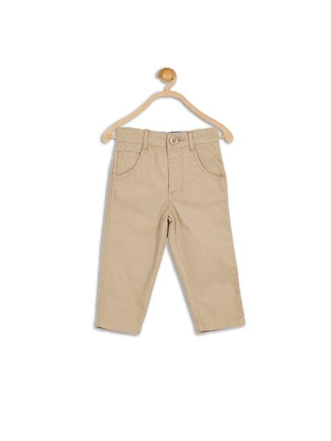 KHAKHI COTTON PANT- 612 League