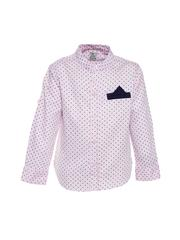 A Little Fable - Square Dot Print Shirt