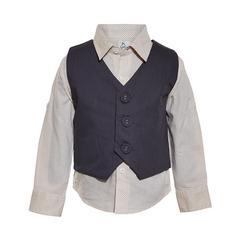 A Little Fable - Vanilla Vest Shirt
