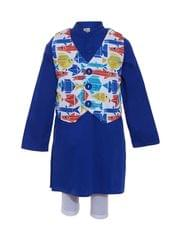 fish vest kurta -A Little Fable