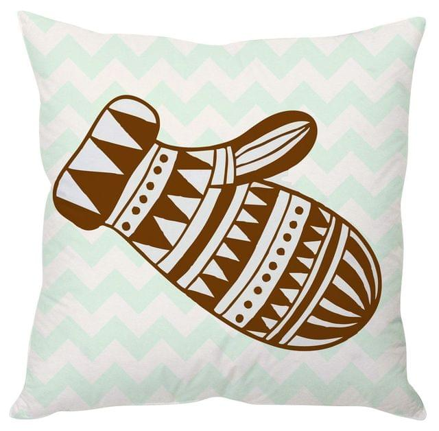StyBuzz Christmas glove cushion cover