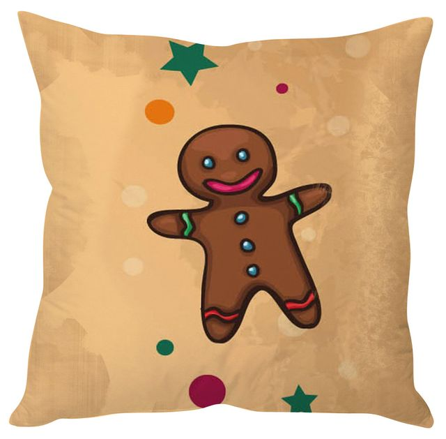 StyBuzz cookie man Christmas cushion cover