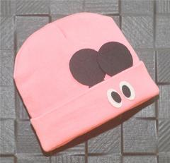 Lullabuy- Cute Big Eyes Winter Cap - Pink