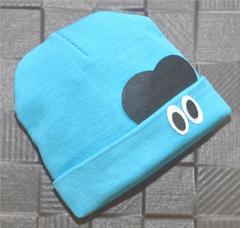 Lullabuy- Cute Big Eyes Winter Cap - Blue