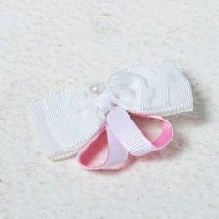 Funkrafts Bunny Hair Clip - White