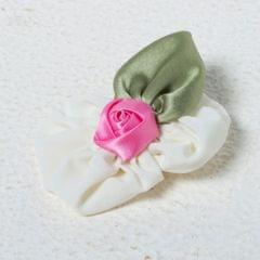Funkrafts Rose Hair Clip - Cream