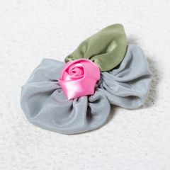 Funkrafts Rose Hair Clip - Grey