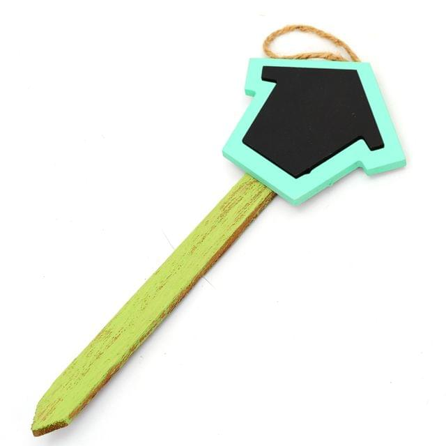 Deziworkz Chalkboard Wooden Tag-Message Tag-Garden Stick/Stack-Herbs Tag